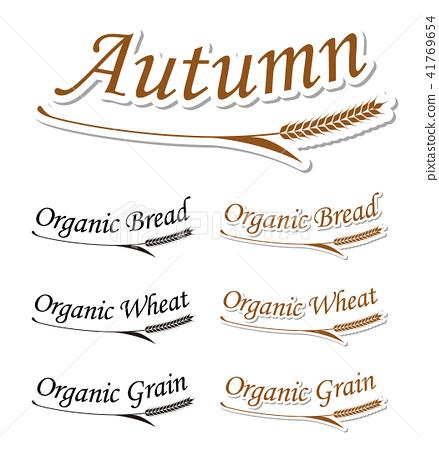 与秋天和大麦的符号有关的字符 41769654