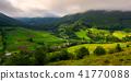 village, forest, hillside 41770088