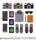 travel equipment vector design 41775603