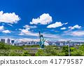"""Tokyo Metropolis"" Odaiba / Urban Landscape 41779587"