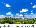 """Tokyo Metropolis"" Odaiba / Urban Landscape 41779590"