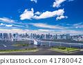 waterfront, rainbow, bridge 41780042