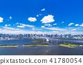 waterfront, rainbow, bridge 41780054
