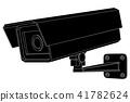 cctv, security, guard 41782624