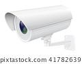 3d, cctv, security 41782639