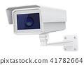 camera, cctv, 3d 41782664