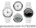 Men wrist watch. 3d set 41782666