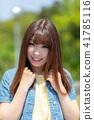 인물 모델 여성 41785116
