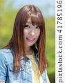 인물 모델 미소 41785196