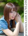 인물 모델 턱 41785206