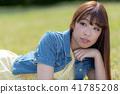 인물 모델 잔디 41785208