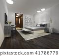 เตียง,ห้องนอน,ภายใน 41786779