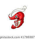 shrimp vector logo 41786987