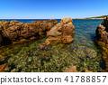 Stony Coast At Capo Pecora Buggerru Sardinia Italy 41788857