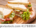 Picture of canape with toothpicks 41788864