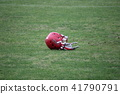 ลาครอส,หมวกนิรภัย,สนามหญ้า 41790791