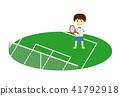 tennis, tennis court, younger 41792918