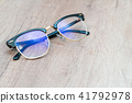 Glasses Lens light blue eye glasses. 41792978