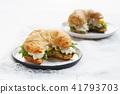 sandwich croissant 41793703
