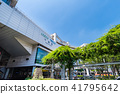 Scenery in front of Chiba station 41795642