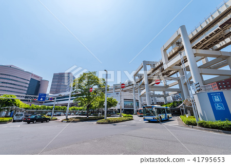 Scenery in front of Chiba station 41795653