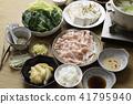 涮涮锅 猪肉涮涮锅 日本食品 41795940