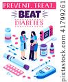 糖尿病 海报 处理 41799261