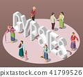Gypsies Isometric Background 41799526
