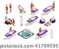 isometric, spa, salon 41799595