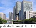 오사카 · 나카노 시마의 고층 빌딩 군 41800311