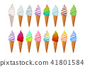 waffle, frozen, icecream 41801584