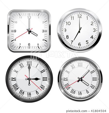 Clock. 3d set 41804504