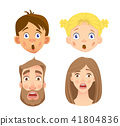face emotion vector 41804836