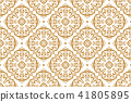 pattern floral vector 41805895