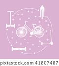 Bike, segway, mono-wheel, scooter, gyroscooter 41807487