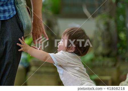가족 유아 원아 아기 1 세 41808218