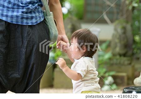 가족 유아 원아 아기 1 세 41808220