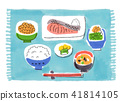 Japanese breakfast 41814105