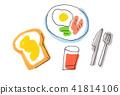 서양의 아침 식사 41814106