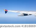 날개,비행기,한국 41816669