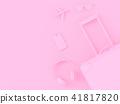 suitcase pink color 41817820