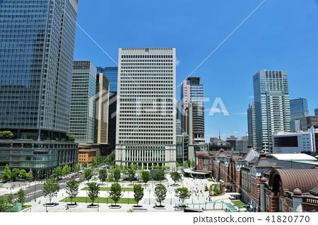 푸른 하늘 도쿄역 41820770
