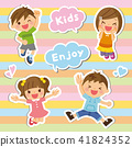 Child group illustration 41824352