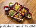 전형적인 일본 소바 Japanese noodles (soba buckwheat noodle) 41825068