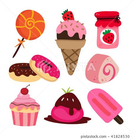 dessert vector collection design 41828530