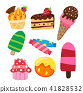 dessert vector collection design 41828532