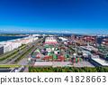 集裝箱堆場 集裝箱碼頭 港口和海港 41828663