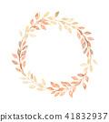 花环 水彩画 水彩 41832937