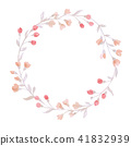 花环 水彩画 水彩 41832939