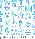 seamless pattern physiotherapy 41835832
